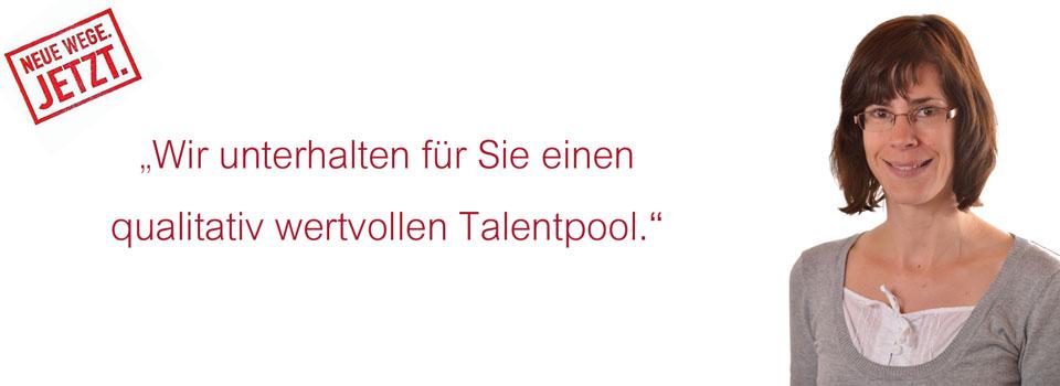 Talentpool Aussage Fabienne Oberlin